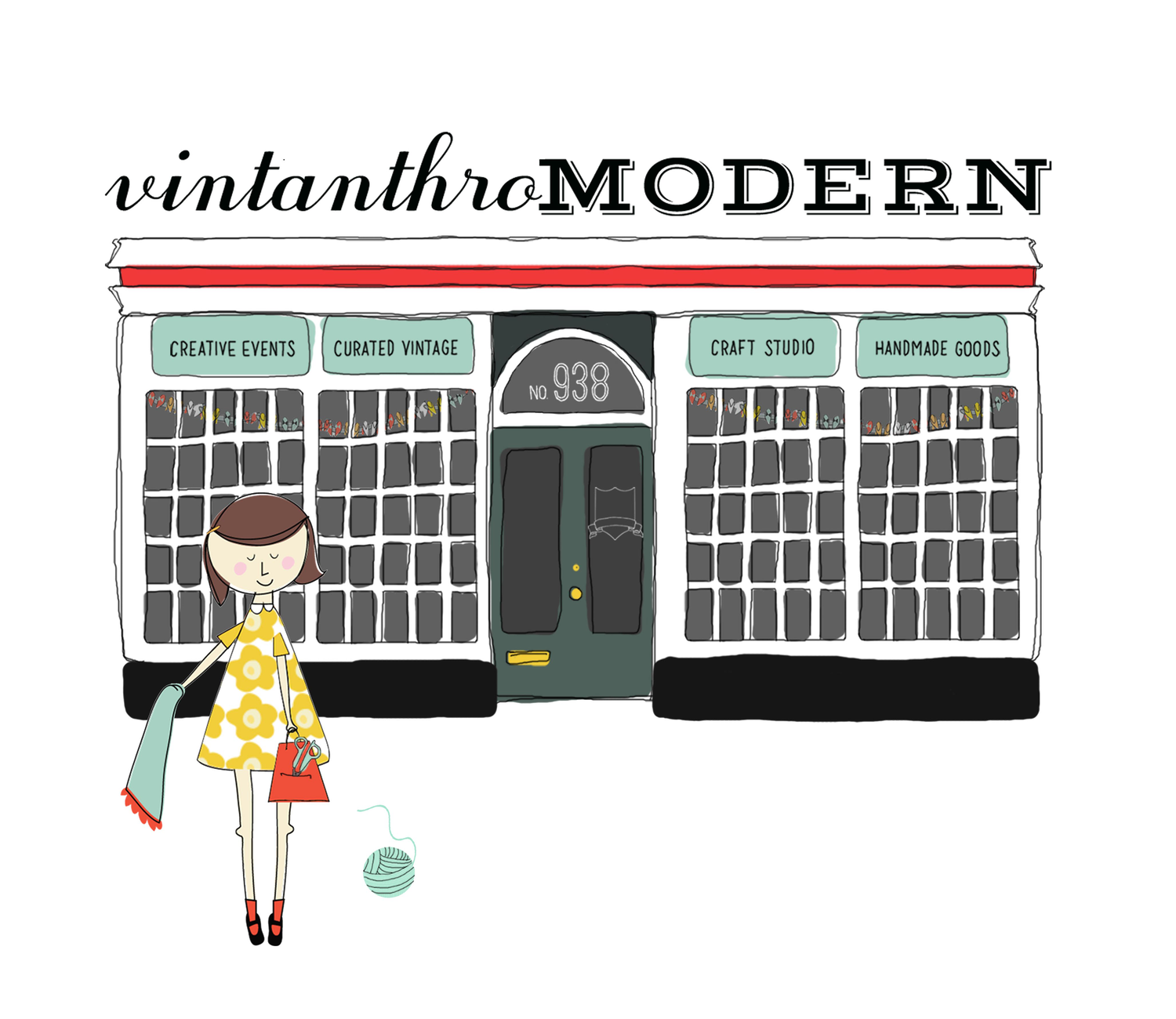 Vintanthromodern: Shop / Gather / Create