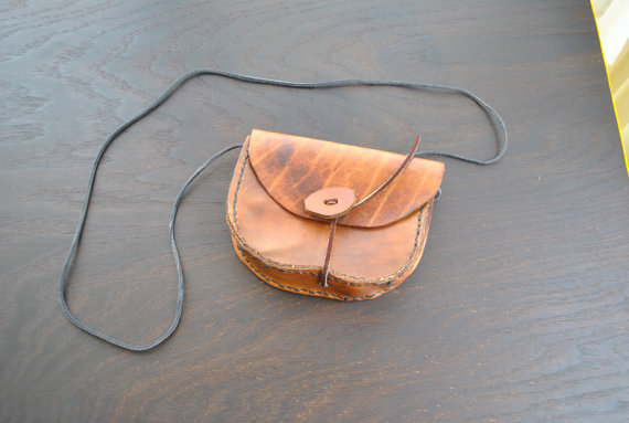 Brown Medicine Man Cross Body Bag