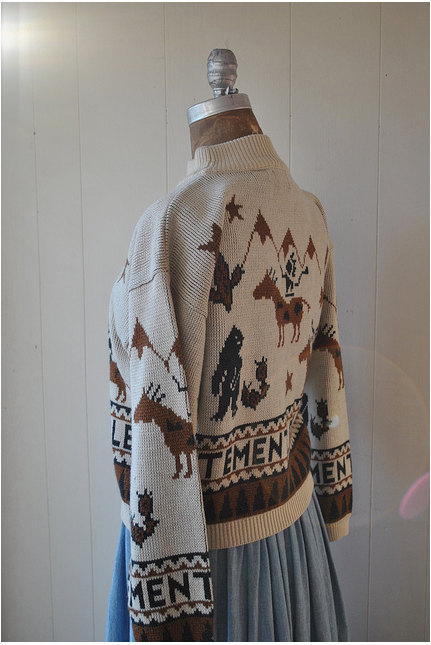 Mountain Indian Horses Sweater