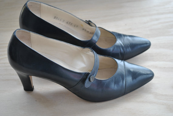 80s perry ellis designer pumps