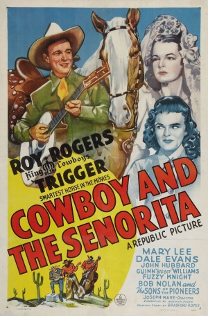 Cowboy and the Senorita Movie Poster 1944