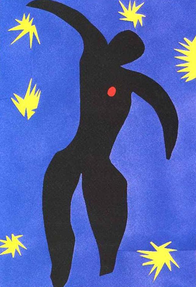 Henri Matisse        Icarus, plate VIII, from Jaz