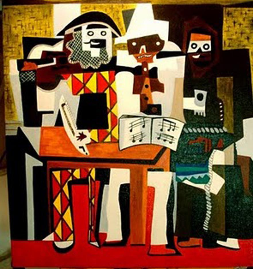 Pablo Picasso    3 Musicians