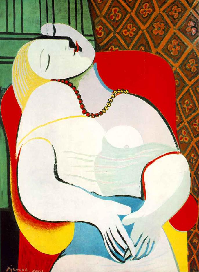 Pablo Picasso    Le Rêve
