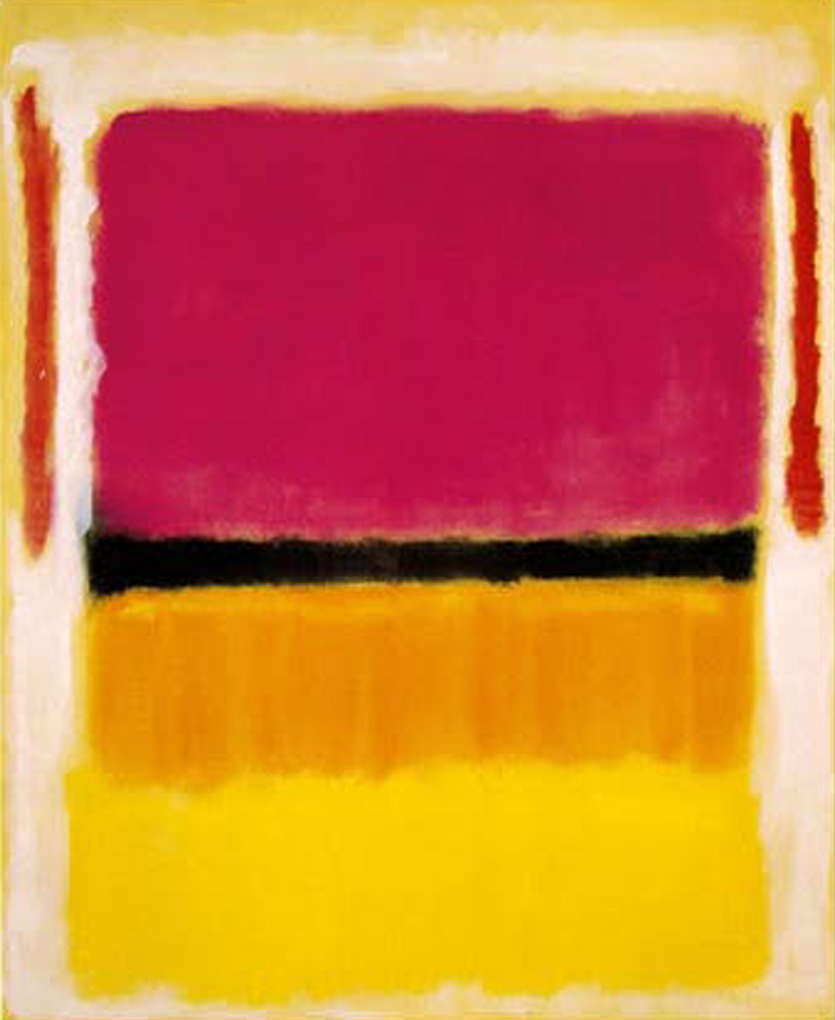 Mark Rothko     Orange, Red, Yellow