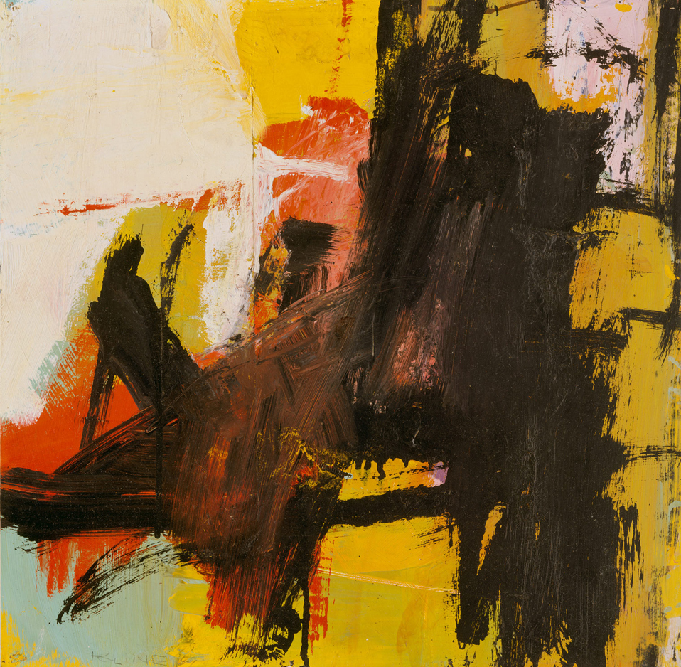 Franz Kline     Black Reflections