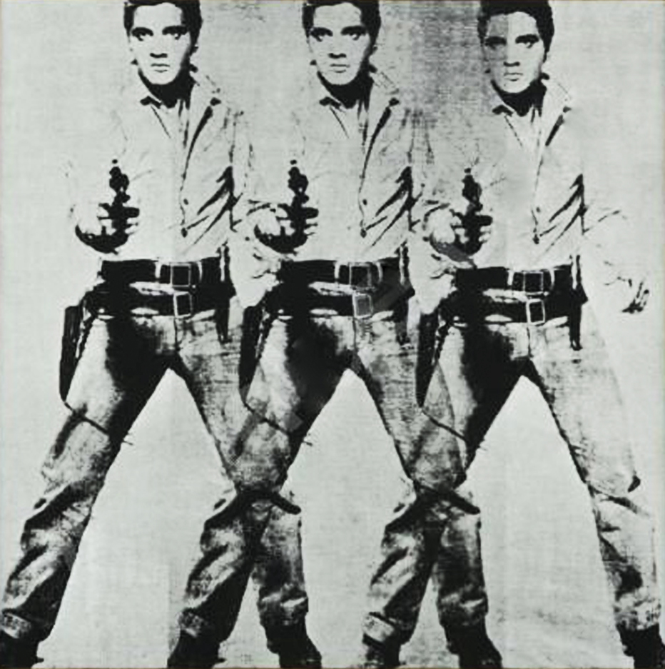 Andy Warhol     Triple Elvis