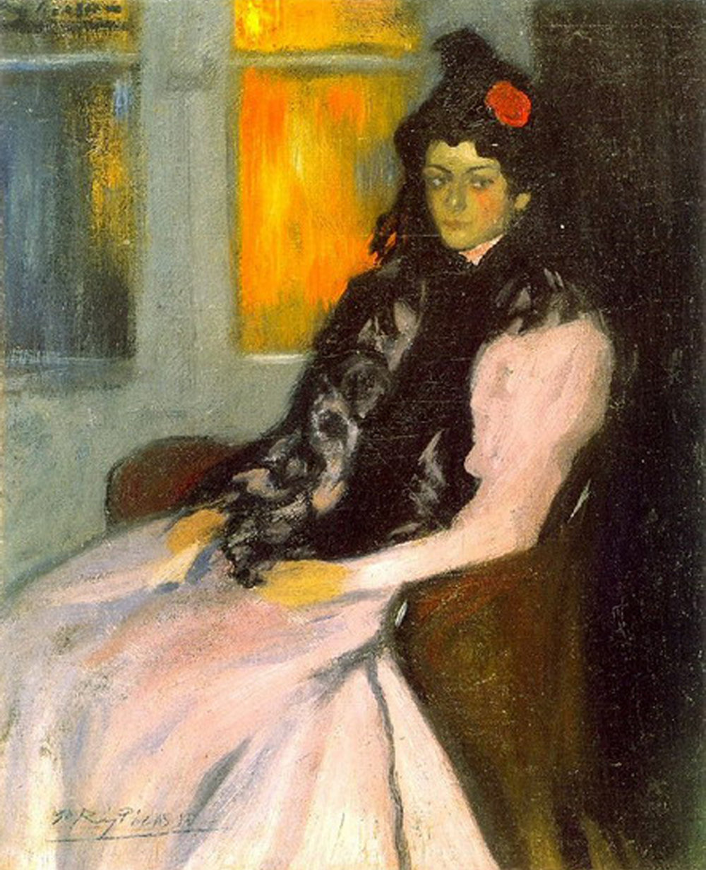 1899    Lola Picasso, artist sister