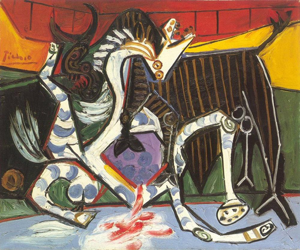 1923  Bullfight (Corrida)