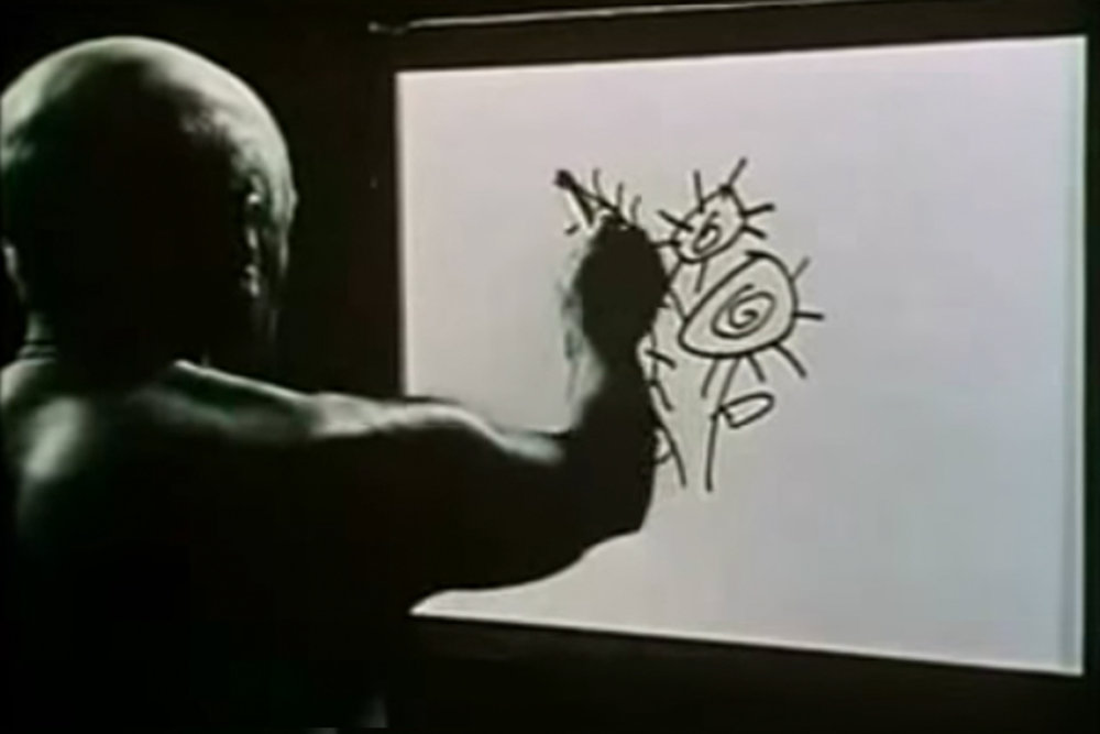 Picasso - Live Drawing