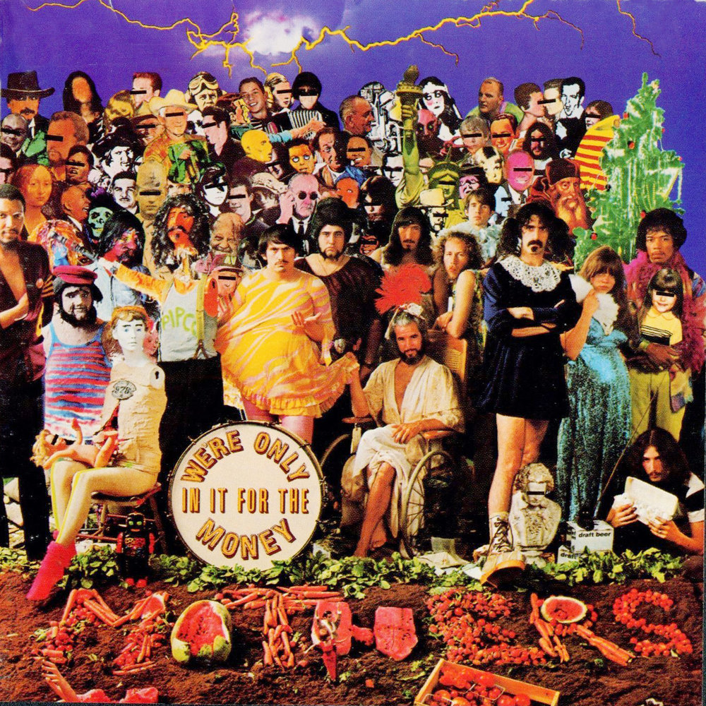 Frank Zappa and the Mothers of Invention   We're only in it for the Money,  Interior gate fold image    1968