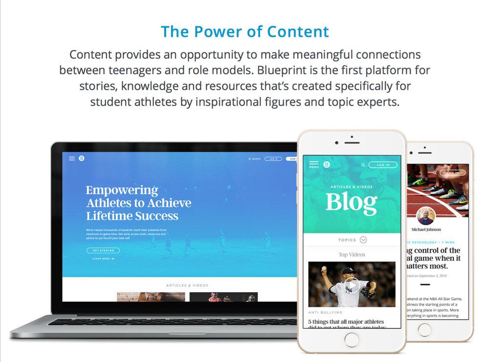 Blueprint for success website bringing an entrepreneurs vision to 09visualdesignblogblueprintg malvernweather Images