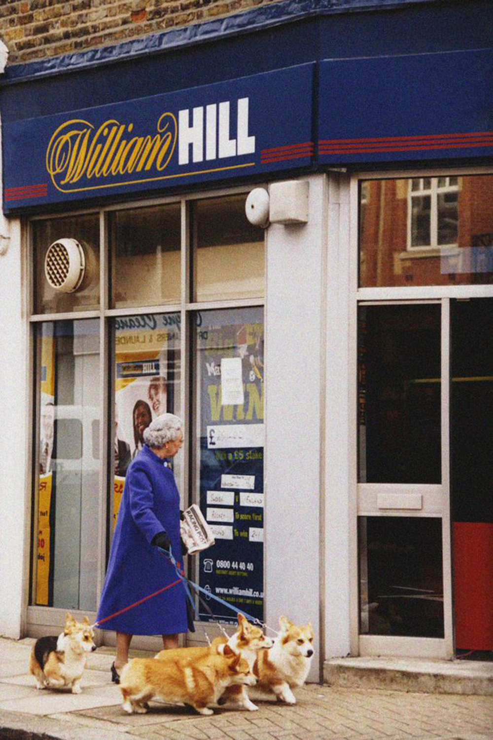 The Queen at William Hill