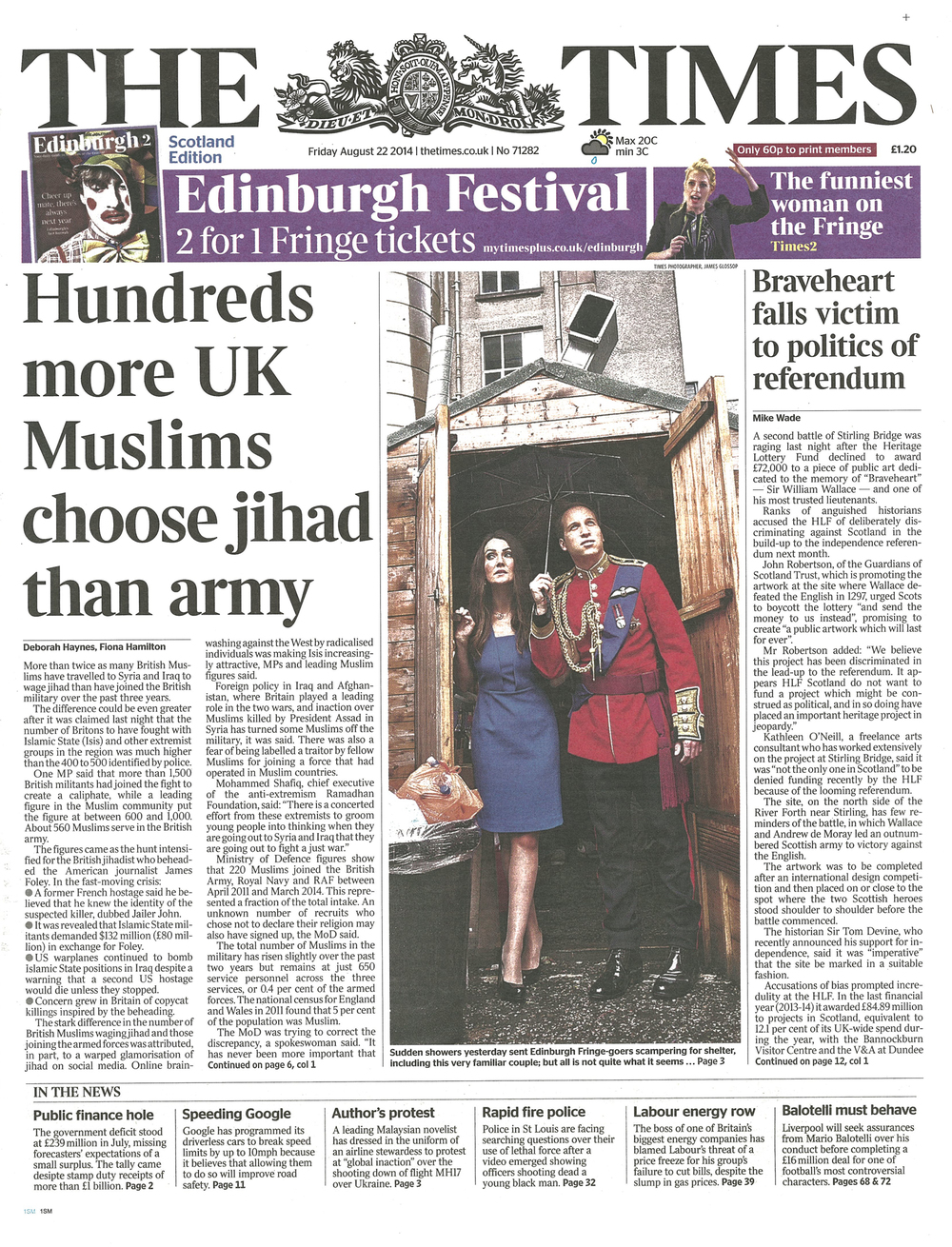 The Times Trashiata Front Cover 220814.jpg