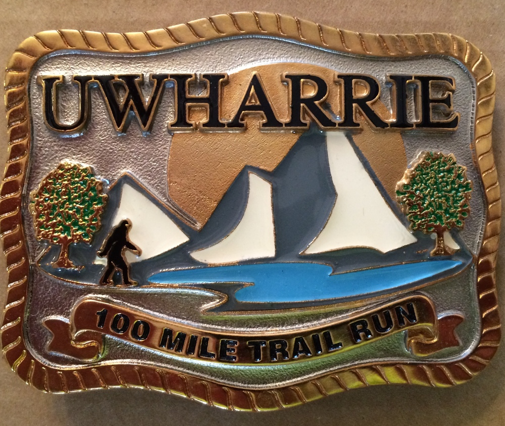 100 Mile Finisher Buckle