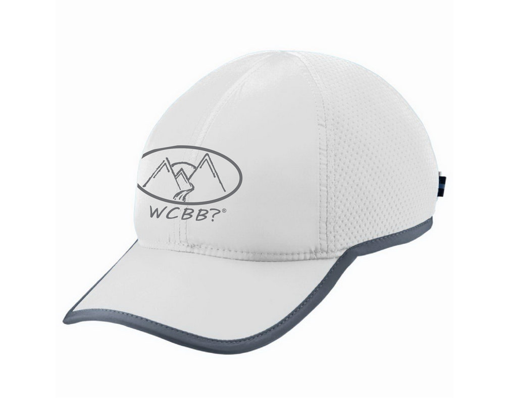 Light Weight Running Hat - White  $25