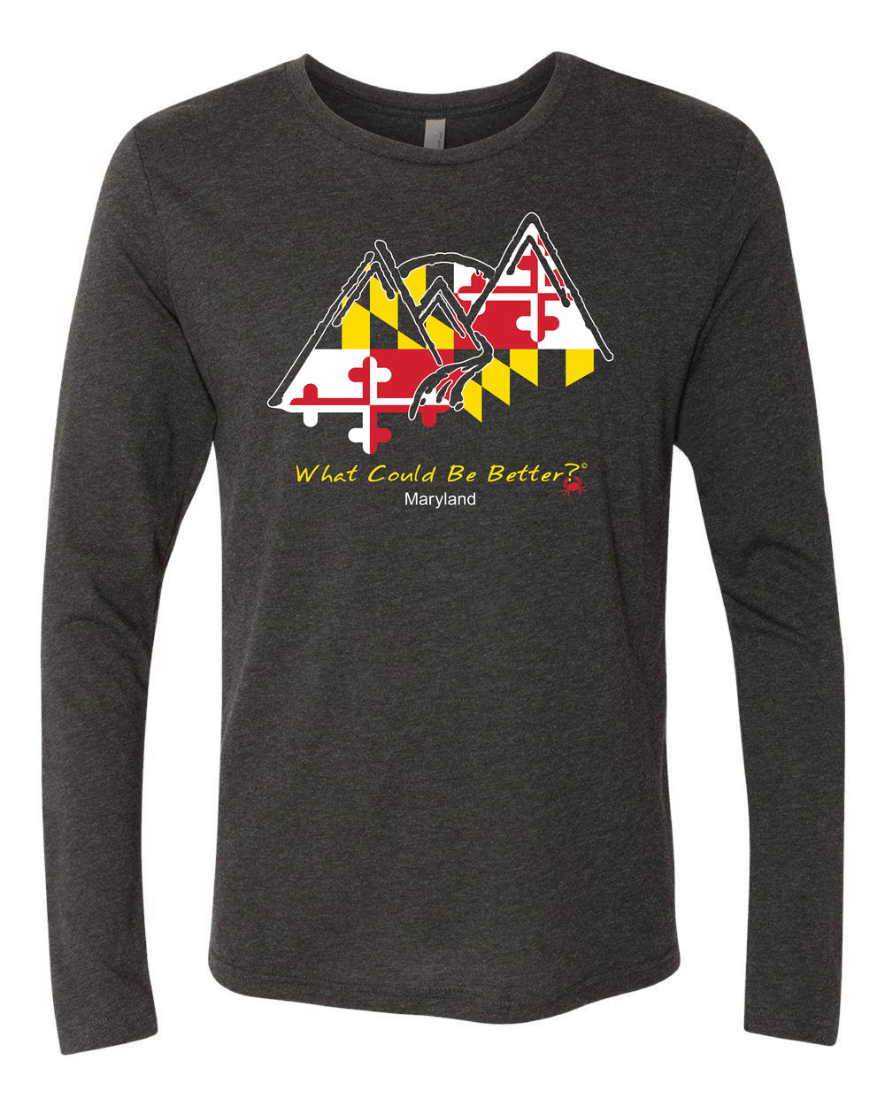 Maryland Flag Long Sleeve