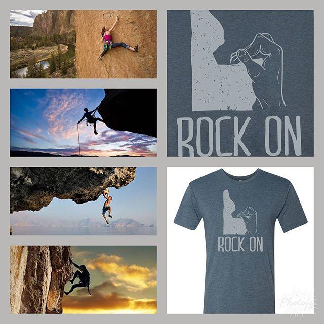 Rock On! https://www.wcbboutdoors.com/rock-on-shirt  #yosemite #grandtetonnationalpark #redrocks #redrivergorge #waimea #elcapitan #freesolo #rockclimbing #boldering #climbing #climbing_lovers #climb #wasteknot #beatjunkie #crux #theeighthday #joshuatree #tuolumnemeadows #earthtreks #getoutside #getoutdoors #getagrip #halfdome #redpoint #rainbowarch #kryptonite