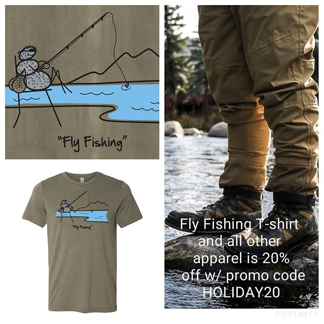 Fly Fishing... What Could Be Better?  #flyfishing #fishing #flyfish #ariverrunsthroughit #flyfishinggear #getoutdoors #getoutside #naturelover #fisherman #natureshealing #trout #fishinglife #funnytshirt #tshirtlovers