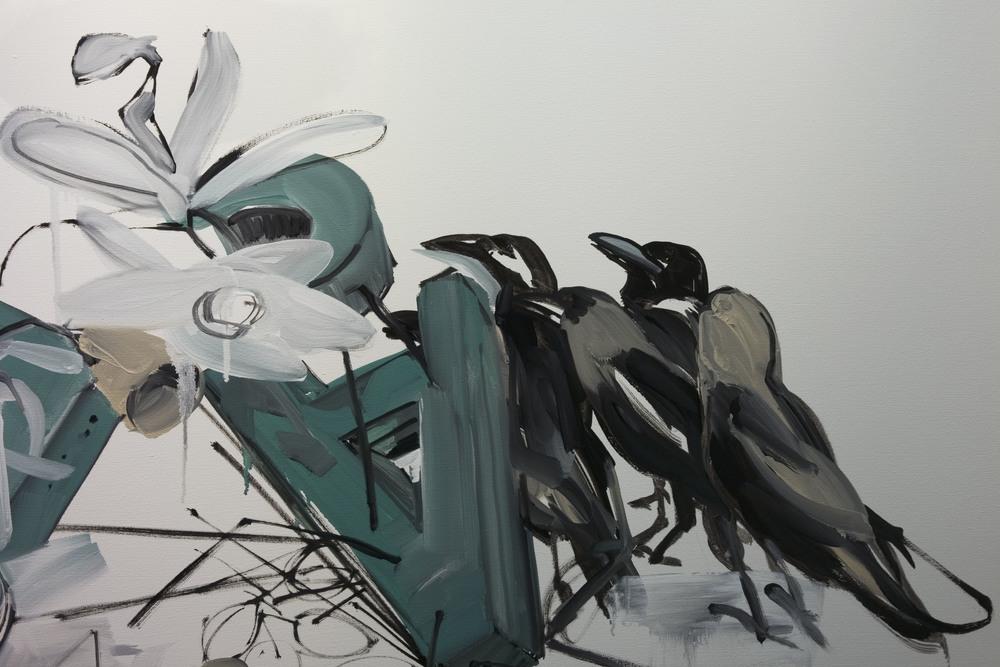 Susan Sluglett (work in progress, detail)