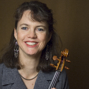 Violinist Michèle Walther