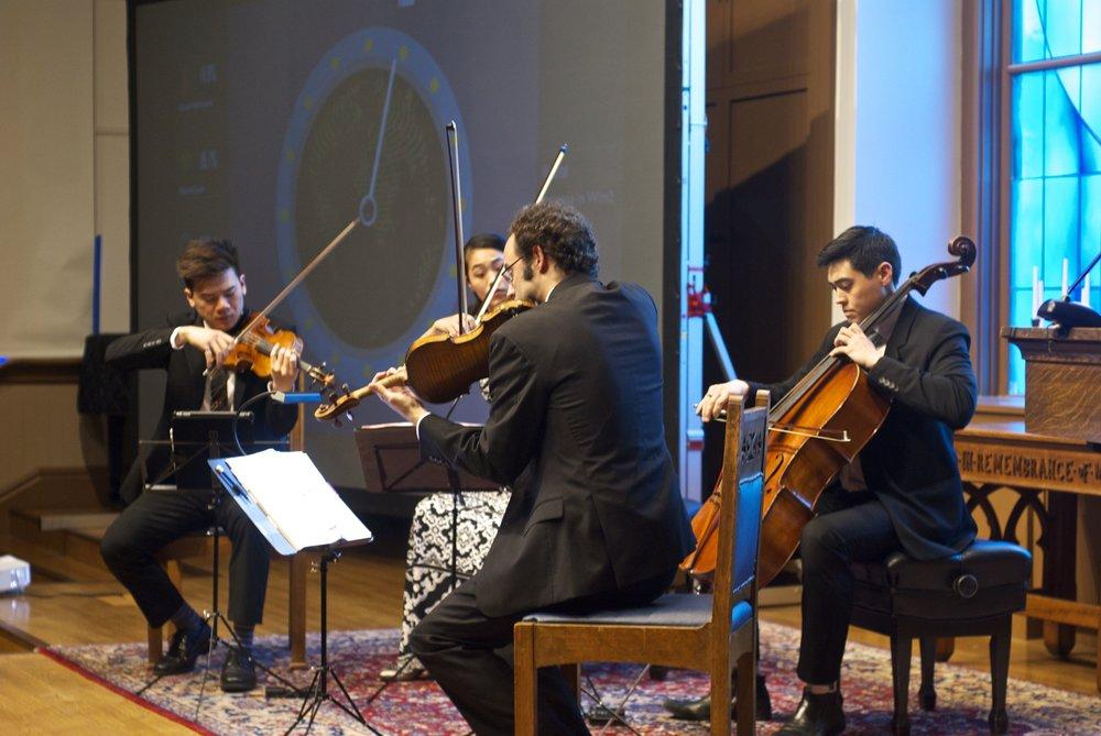 Telegraph Quartet Photo Credit: Tim Guydish