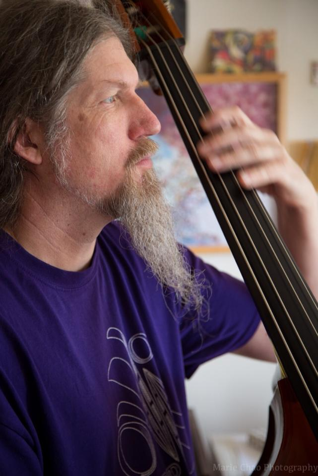 Bassist Bill Noertker Photo credit: Marie Chao