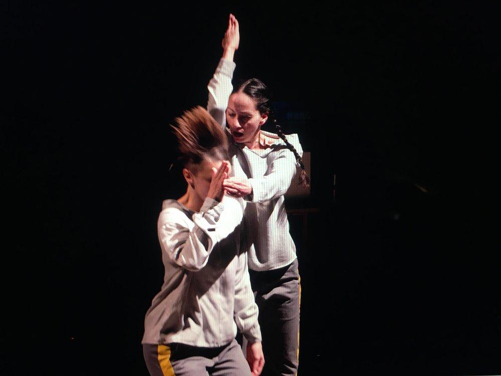 Photographer: Weidong Yang; Pictured: Daiane Lopes da Silva and Tanja London