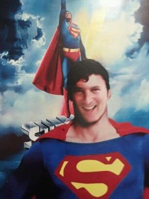 Here's SuperStu pre-hospice :-).