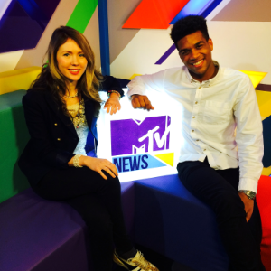 "Beatie joined the team at MTV news to talk about her charity single ""Kids Wish for the World"", being an Ambassador for children and paving the way for the next generations of songwriters."