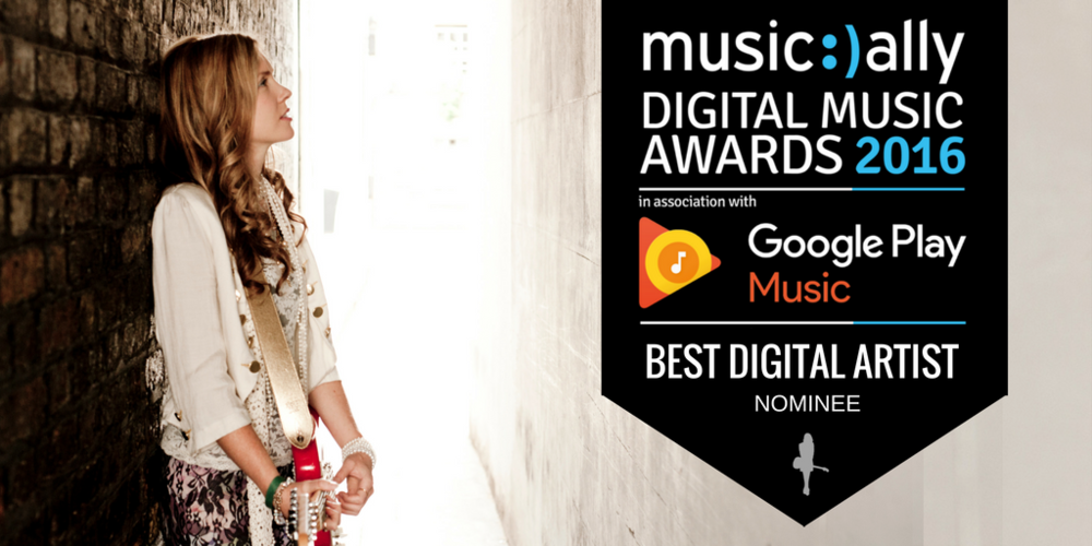 Beatie Wolfe BEst Digital Artist Nominee