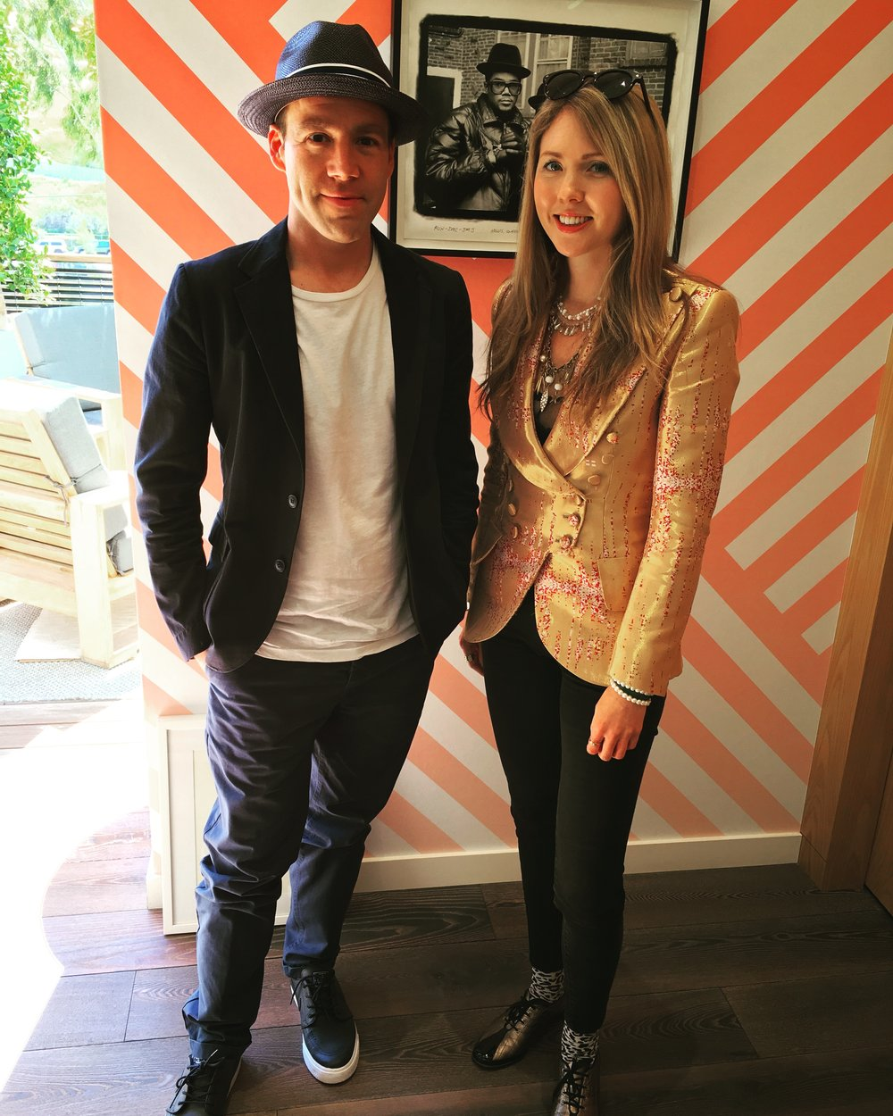 Beatie Wolfe & Luke Wood at Beats & Apple Music HQ