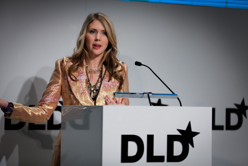 Beatie Wolfe speaking at DLD'16