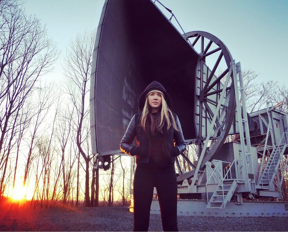 Beatie Wolfe at the Nokia Bell Labs Horn.JPG