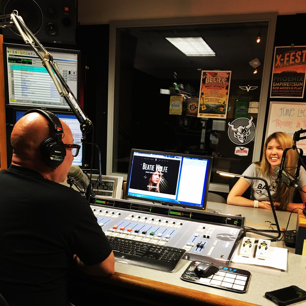 Beatie Wolfe + Tim Pyles on 91X