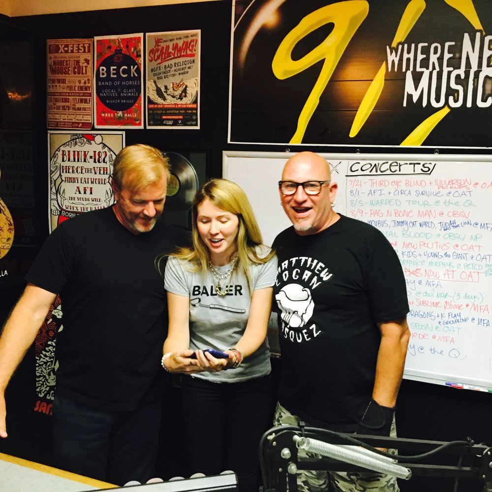 Beatie Wolfe + Tim Pyles + Lu Niles on 91x Radio