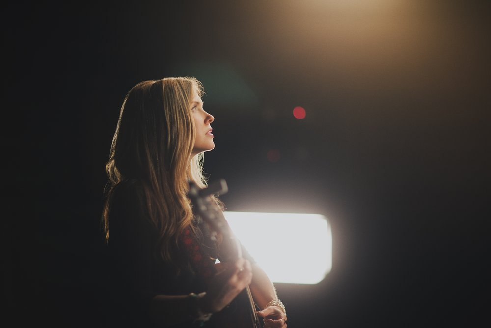 Beatie Wolfe in the quietest room on earth
