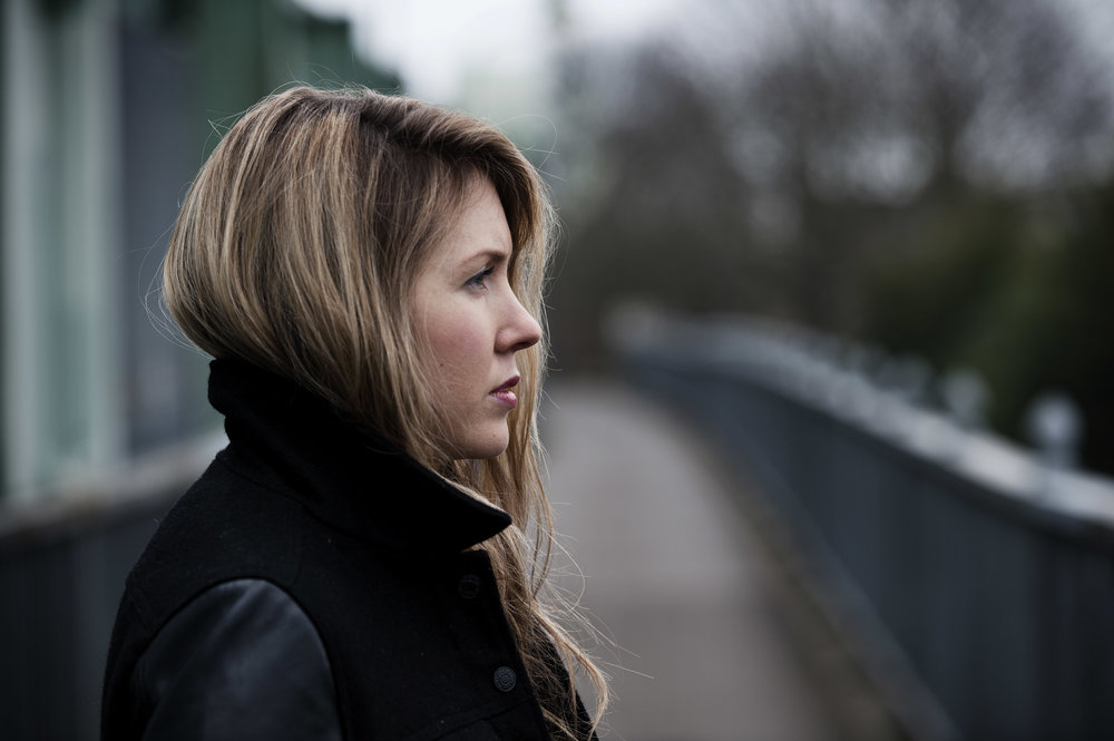 Beatie Wolfe on Putney Bridge London