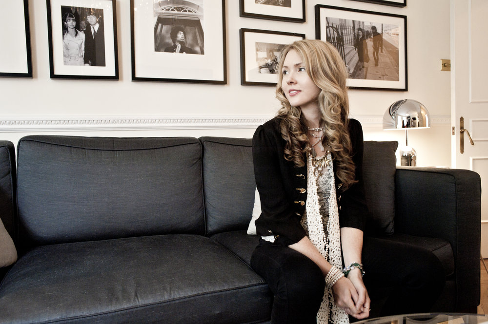 Beatie Wolfe at 34 Montagu Square