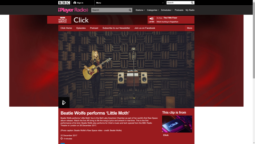 BBC Worldwide Website