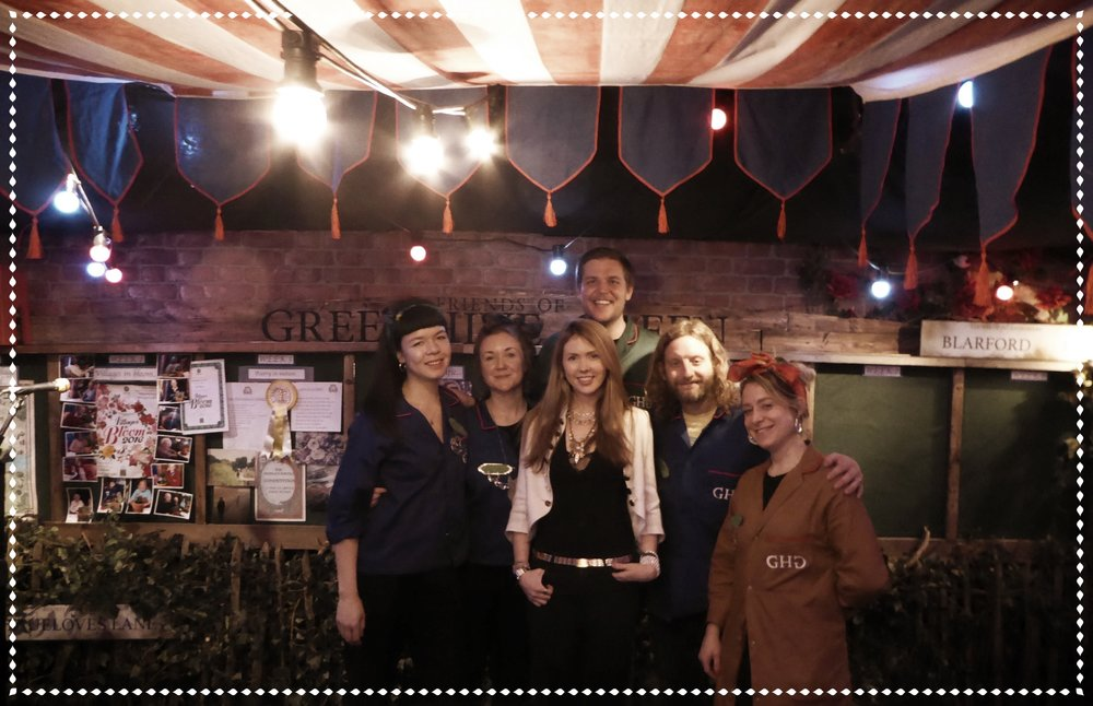 Beatie Wolfe and the Punchdrunk team