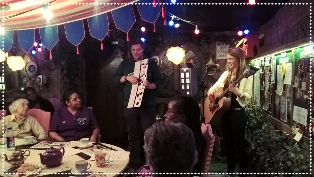 Beatie Wolfe brings music to GHG