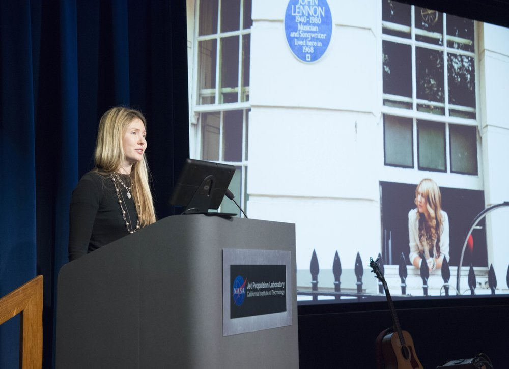 Beatie Wolfe shares Montagu Square at NASA's JPL