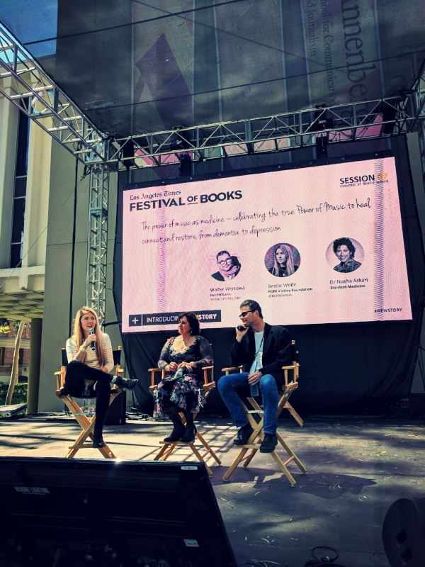 Beatie Wolfe + Stanford + HealthTunes