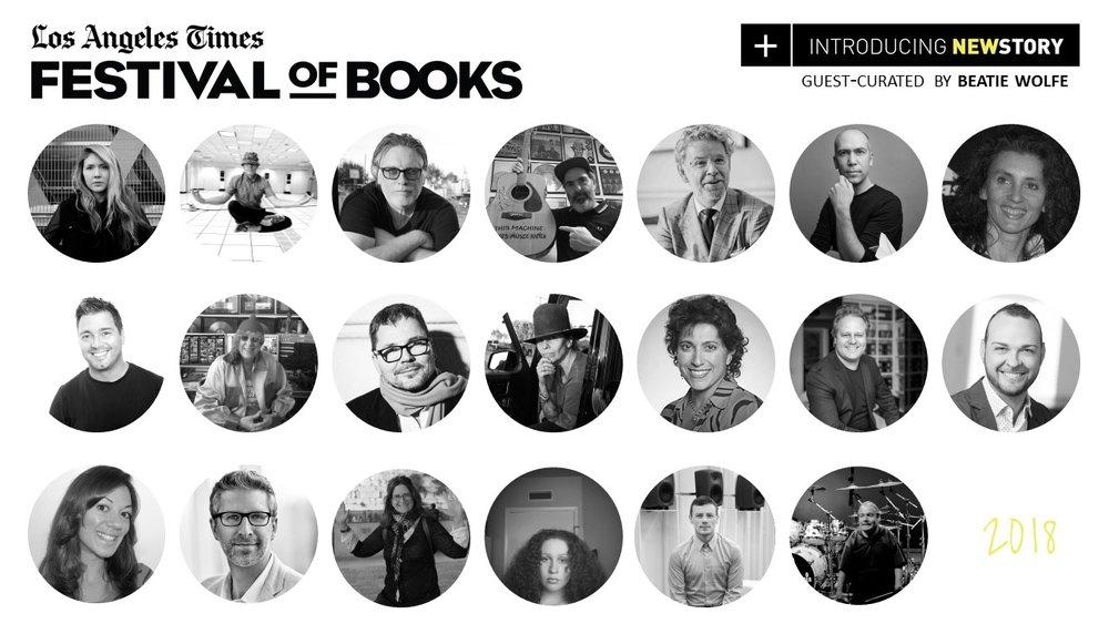LA Times Newstory Festival 2018 - line up