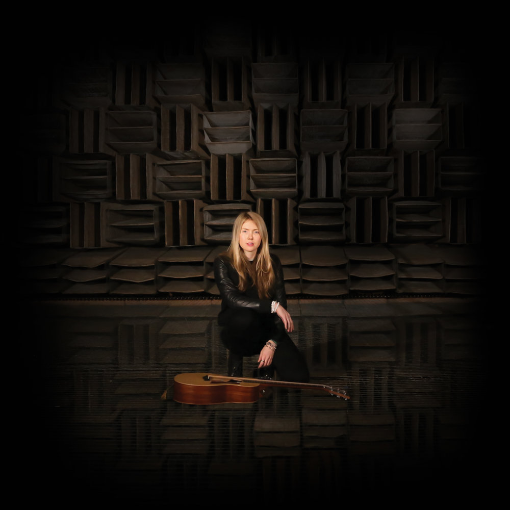 Beatie Wolfe - 2017 Raw Space - Bell Labs Anechoic Chamber (back cover) by Theo Watson