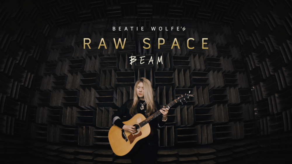 Beatie Wolfe - 2018 Raw Space Beam - Bell Labs Anechoic Chamber