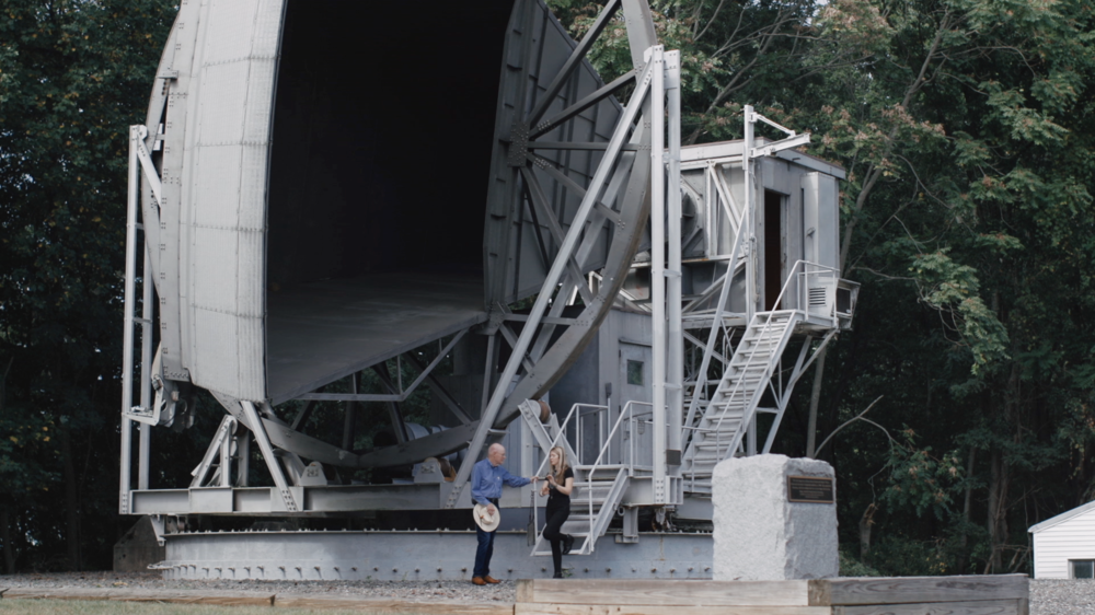 Beatie Wolfe - 2018 Raw Space Beam - Holmdel Horn Antenna with Robert Wilson