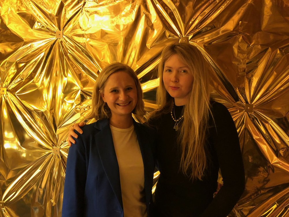 Beatie Wolfe & Elly Parson from Wallpaper*
