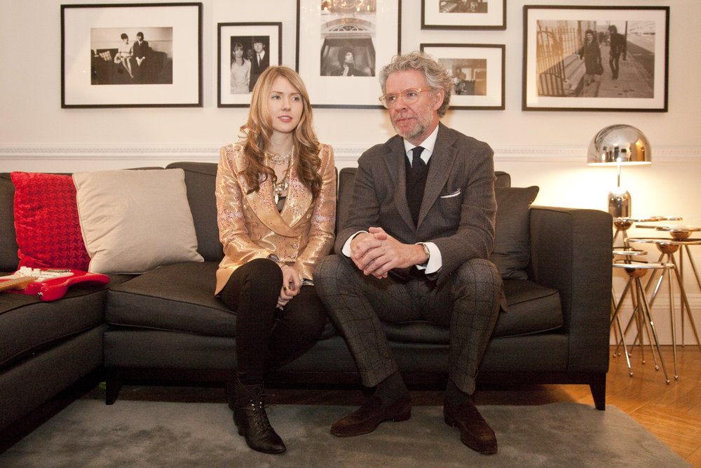 04. Mr Fish & Beatie Wolfe in her Musical Jacket inside 34 Montagu Square - Photo by Ollie Smallwood (2).jpg